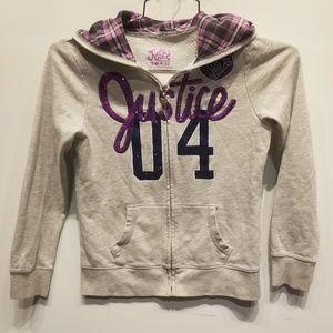 Justice Girls Hooded Sweatshirt